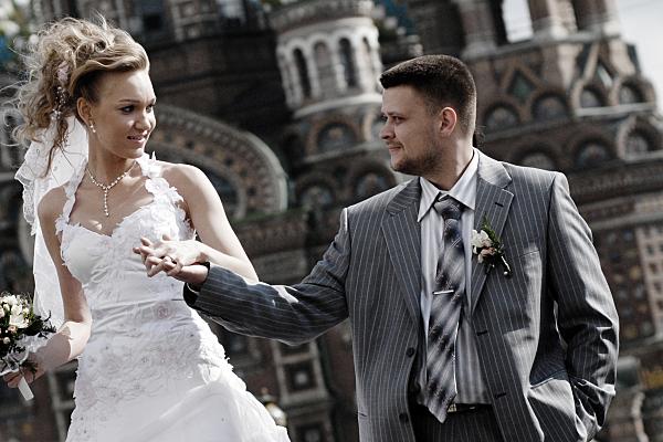 Hochzeitsfoto Collage Brautpaar.
